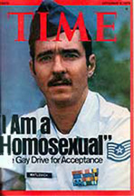Leonard Matlovich on cover of Time